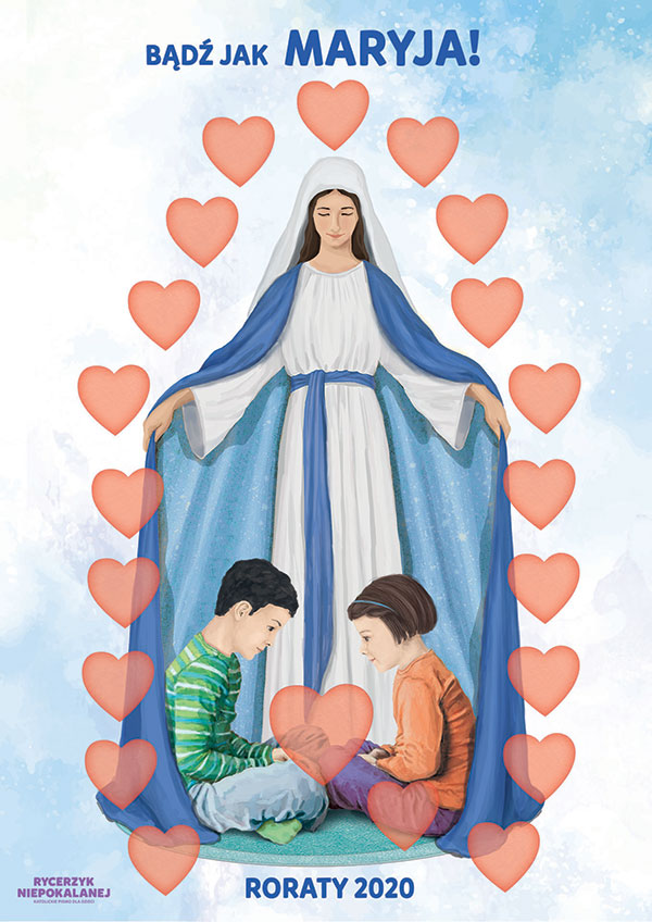 Bądź jak Maryja - plakat