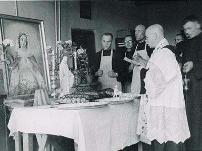 Święcenie pokarmów, przed 1939