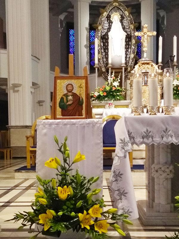 Ikona Serca świętego Józefa w Niepokalanowie